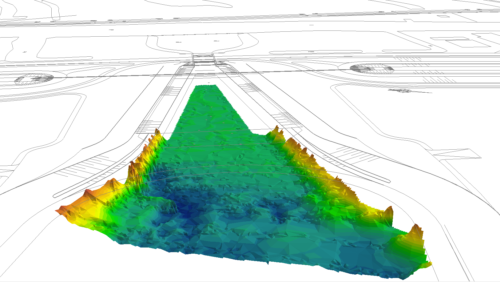 Current and erosion measurements for inlet design verification